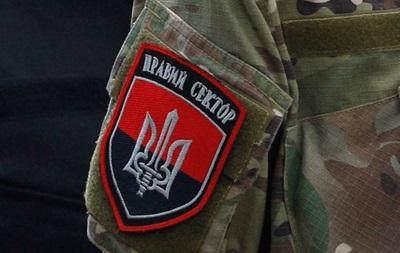 В Правом секторе заявили о нападении на штаб в Рубежном