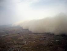 Японию и Южную Корею атакуют песчаные бури