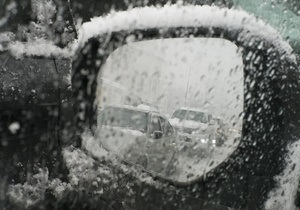 Новости Запорожской области - погода - В Запорожской области ограничено движение на трассе Харьков-Симферополь