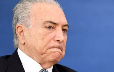 Нового президента Бразилії звинуватили у причетності до корупції