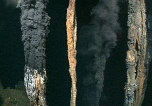 Черные курильщики: гидротермальные источники в бездне