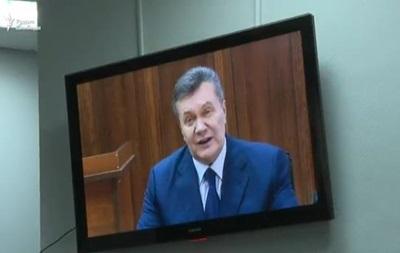 Янукович назвал преступниками тех, кто сорвал его допрос