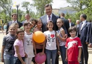 На ремонт школы Януковича в Енакиево выделили еще 28,54 млн грн