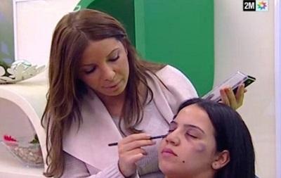 У Марокко вчили маскувати сліди домашнього побиття в телеефірі