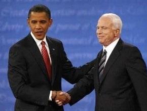 Обама и Маккейн начали последние предвыборные теледебаты