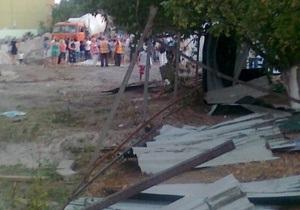Жители Троещины штурмом взяли стройплощадку, охрана отбивалась огнетушителями и смолой - очевидцы