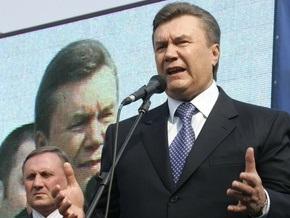 Янукович: Мы никому не позволим отобрать у нас 23 февраля