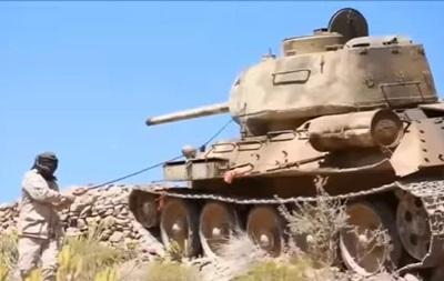 На війні у Ємені засвітився танк Т-34