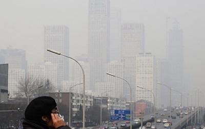 У Пекіні оновили  помаранчевий  рівень тривоги