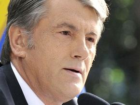 Ющенко поздравил Махмуда Аббаса с днем провозглашения независимости Палестины