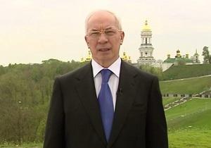 Азаров снял видеообращение для украинцев
