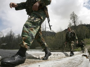 Российские военные вытеснили грузинский спецназ из Переви
