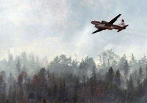 В Канаде при тушении лесного пожара разбился самолет