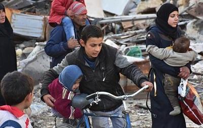 За ніч Алеппо залишили 10 тисяч мирних жителів