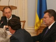 Янукович не пришел на встречу к Яценюку