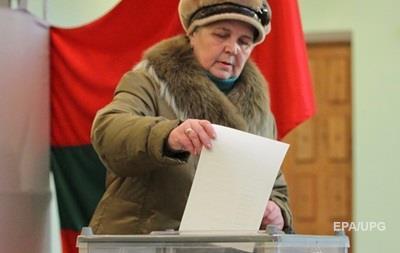У Придністров ї на виборах переможець визначився у першому турі