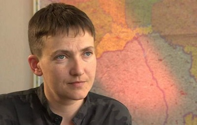 Савченко допитали щодо зустрічі з лідерами ЛДНР
