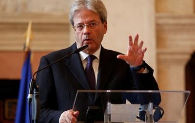 Новий прем єр Італії представив уряд