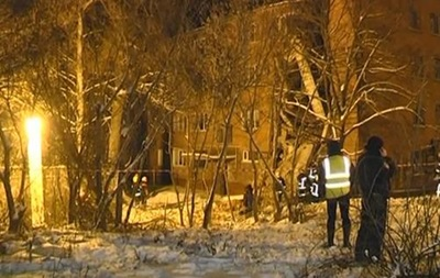 Обвал общежития в Чернигове: видео последствий