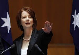 В премьер-министра Австралии бросили яйцом