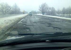 Корреспондент.net продолжает собирать фото разбитых украинских дорог