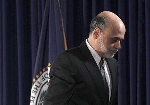 Глава ФРС США обеспокоен недостаточно быстрым ростом экономики