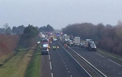 У Франції зіткнулися 50 авто: п ять жертв