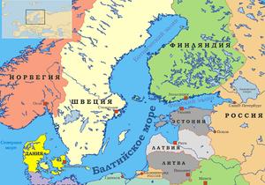 В Балтийское море упал контейнер с двадцатью тоннами опасных веществ
