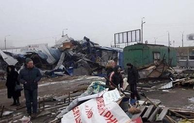 У Кличка заперечують знесення чергового ринку в Києві