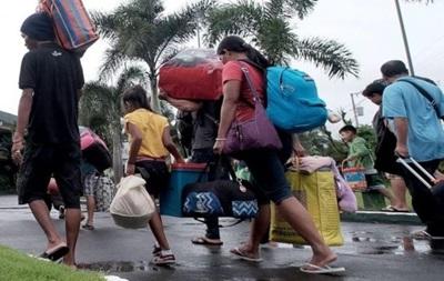 К Филиппинам приближается супертайфун Нина