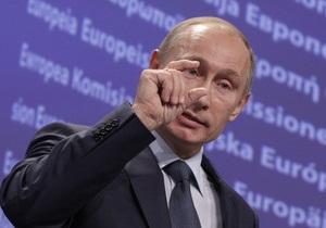 Путин: Цивилизованное сообщество  наваливается  на Ливию. Мне это не нравится