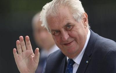 Чеський президент побажав своєму народу небезпечного життя