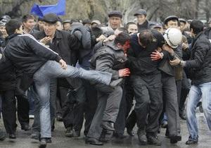 Жертвами беспорядков под Бишкеком стали три человека