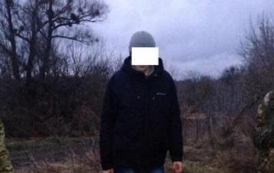 На Волині росіянин хотів прорватися через кордон
