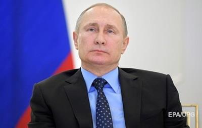 Путін оголосив про припинення вогню в Сирії