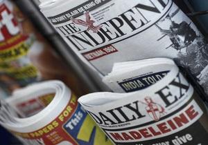 В Британии после 20-ти лет существования закрывается комиссия по жалобам на прессу