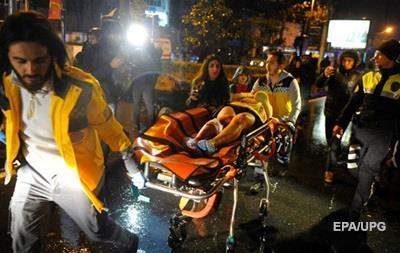 Теракт в Стамбуле в Новый год 31 декабря