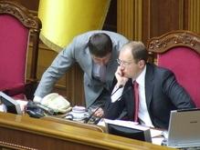 Яценюк открыл Раду и пригласил глав фракций к себе