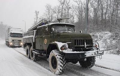 Сніг в Україні: закриті траси в шести областях