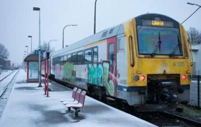 Мороз зупинив рух поїздів між Бельгією і Люксембургом