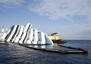 На Costa Concordia завершились работы по откачке топлива