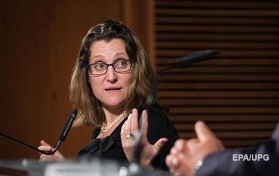 Фриланд отказалась от сделки с РФ за отмену санкций против нее