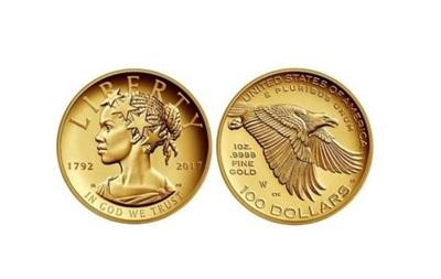 США вперше викарбували темношкіру жінку на пам ятній монеті