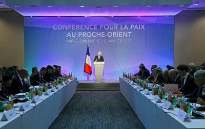 У Парижі шукають шляхи врегулювання палестино-ізраїльського конфлікту