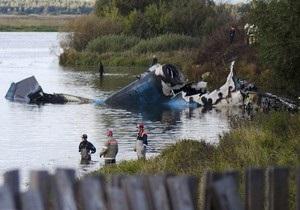 Источник: Вероятной причиной крушения Як-42 стал отказ техники