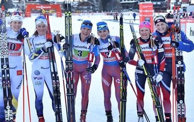 Лижні гонки. Канада і Росія виграли командний спринт
