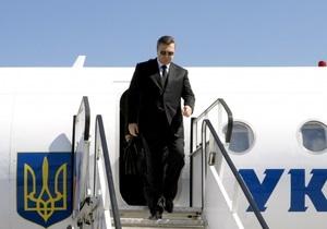 6-8 июня Янукович посетит Грецию и Турцию