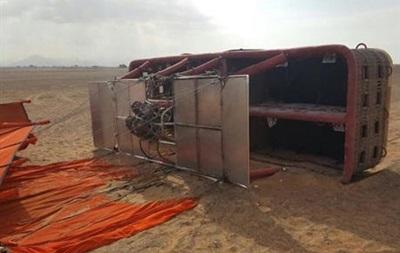 В ОАЕ впала повітряна куля, шість постраждалих