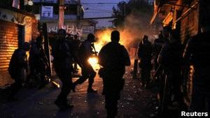 Бразильская полиция вошла в фавелы Рио-де-Жанейро