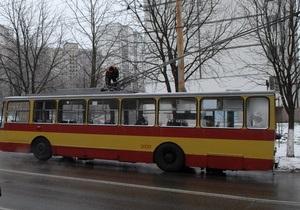 В Харькове водитель троллейбуса насмерть сбил пешехода